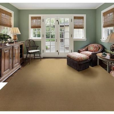 Natco Sisal Natural 8 Ft X 12 Ft Bound Carpet Remnant Ss812hd The Home Depot Carpet Remnants Home Living Room Makeover
