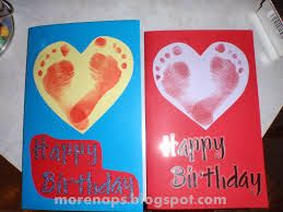 Birthday Card Craft Ideas For Toddlers ~ Homemade birthday cards for dad from toddler google search