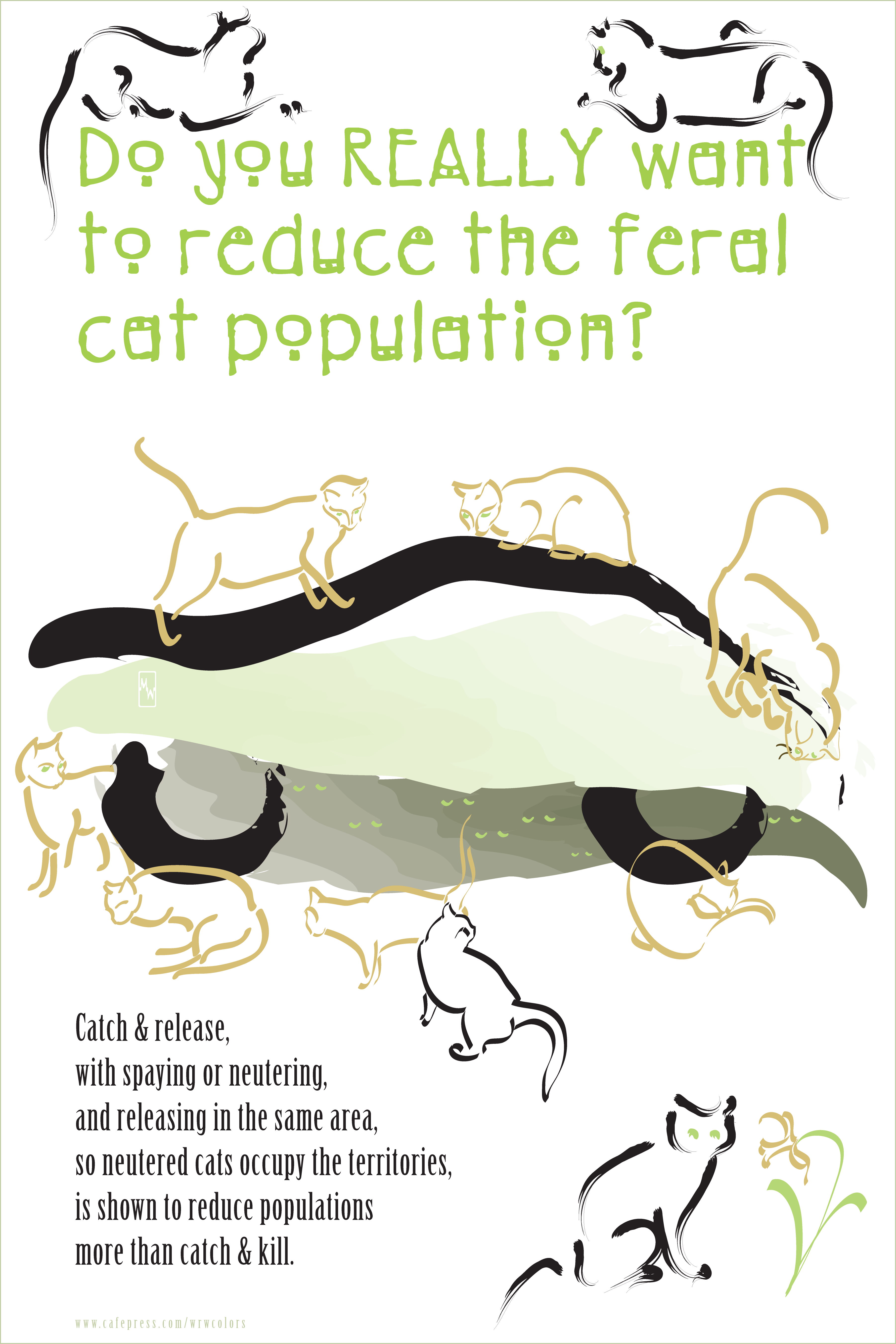 Humanely Controlling Feral Cat Populations Trap Neuter Return