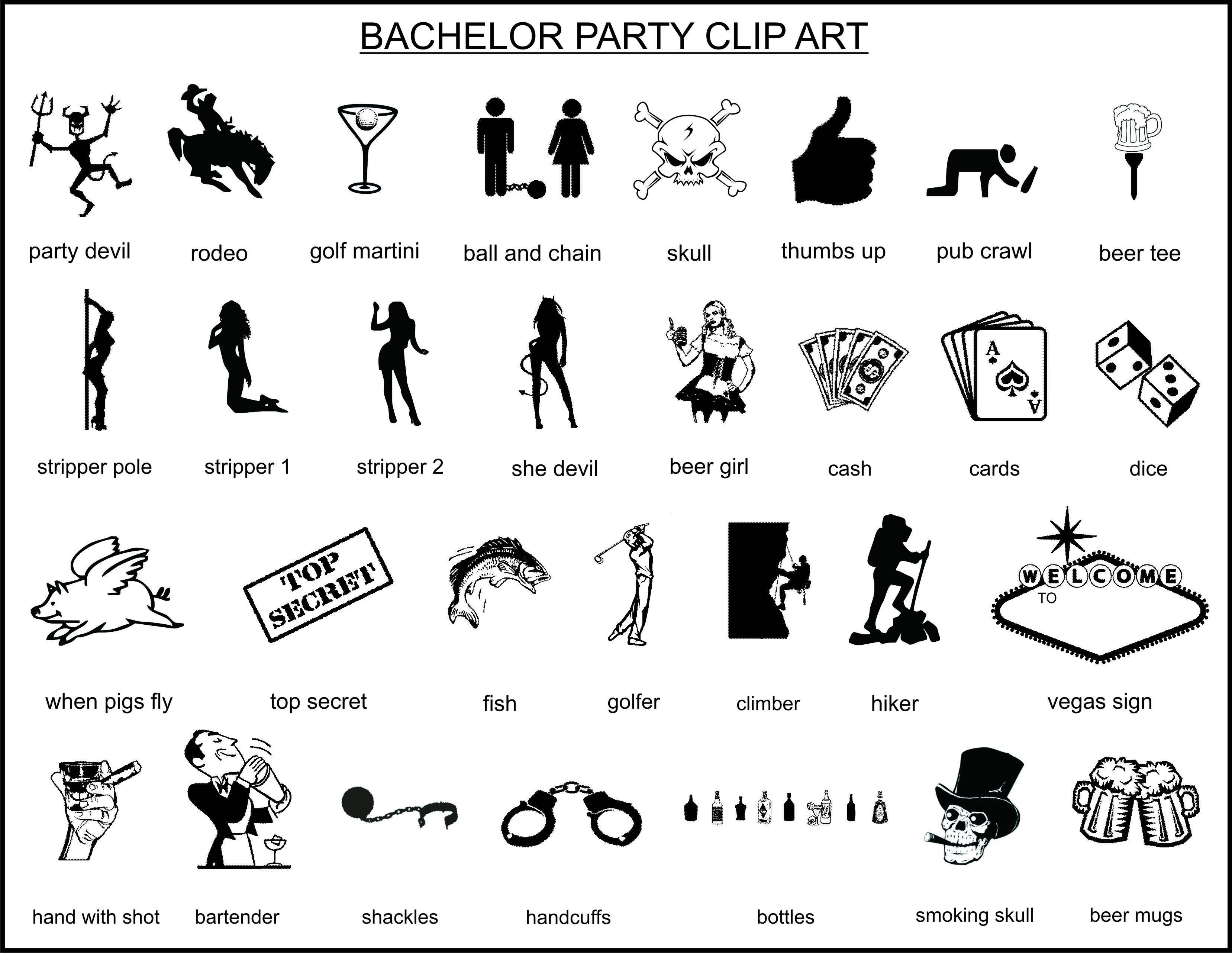 bachelor party clipart clipartfest [ 3314 x 2563 Pixel ]