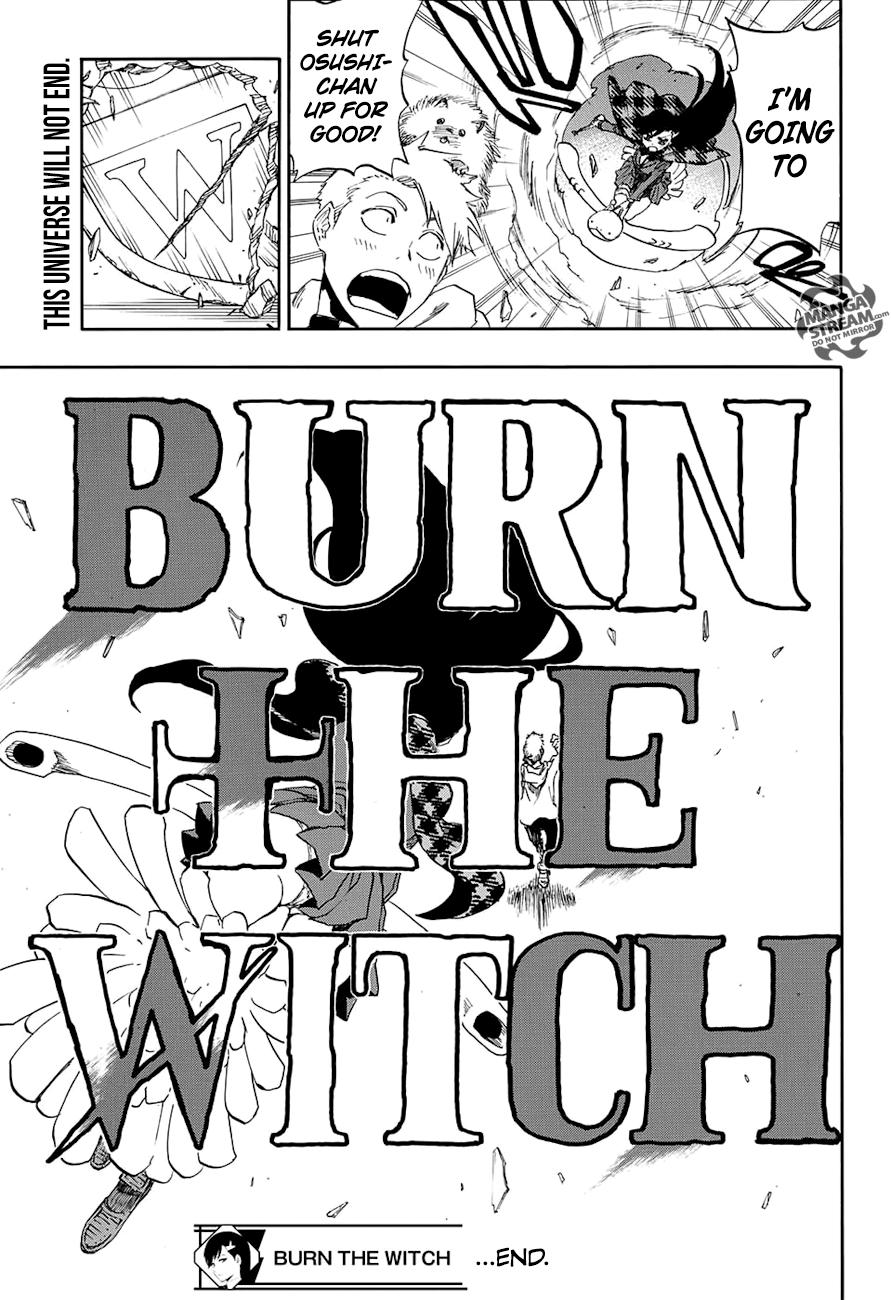 One Shot Burn the Witch Page 59 Manga Stream Witch