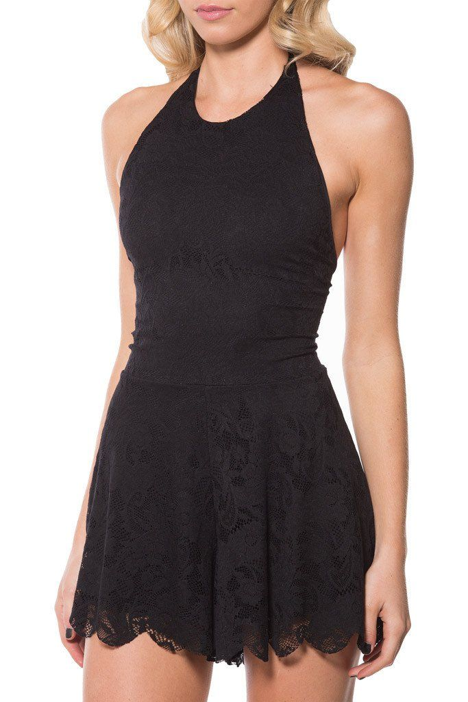 Once Upon A Time Black Playsuit
