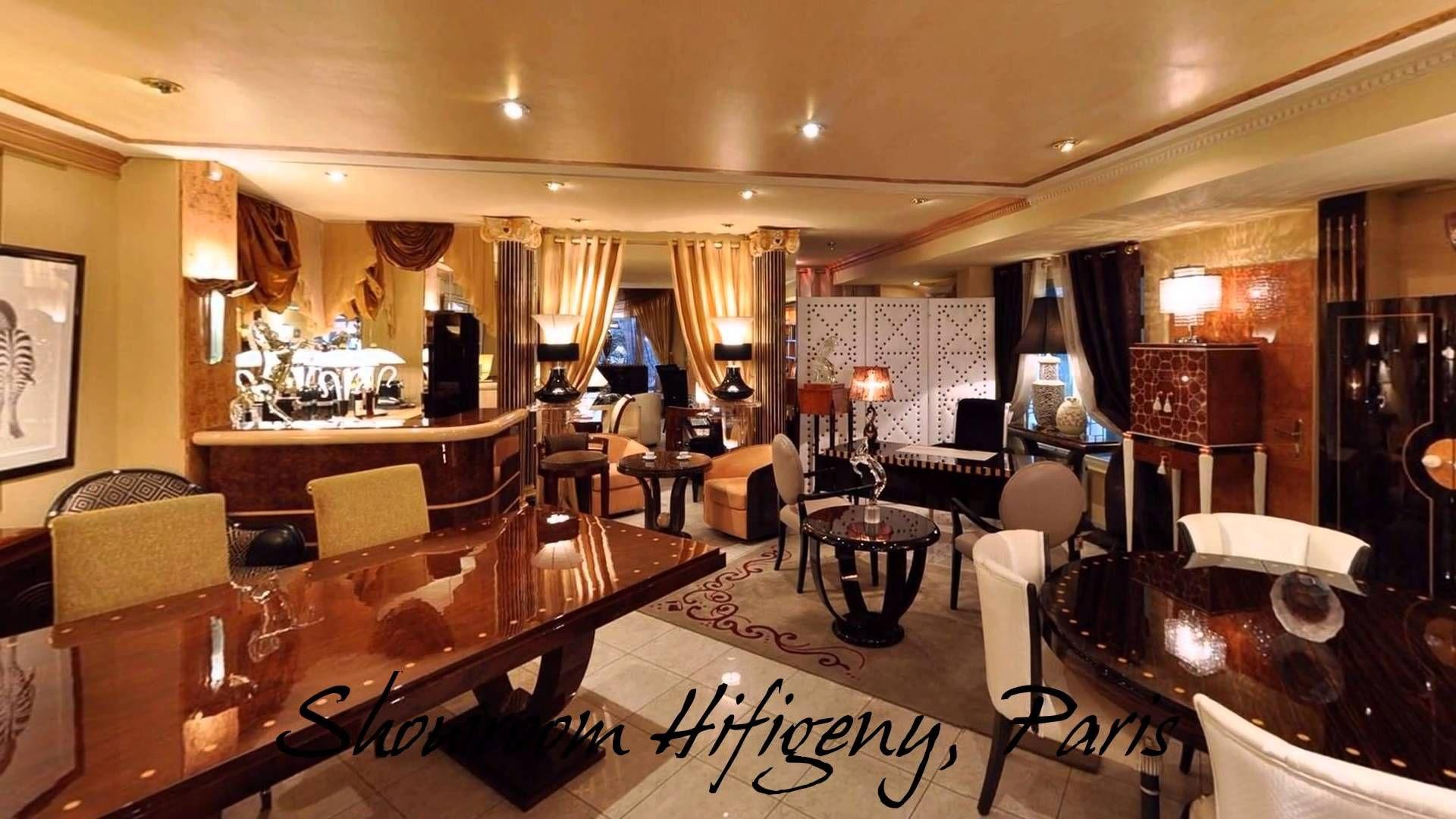 Visite Virtuelle Du Magasin Art Deco Hifigeny Showroom Paris Art Deco Canape Art Deco Meubles Art Deco