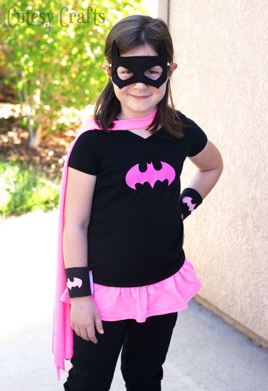 Diy Batgirl Costume From A T Shirt Herois Batgirl Costume