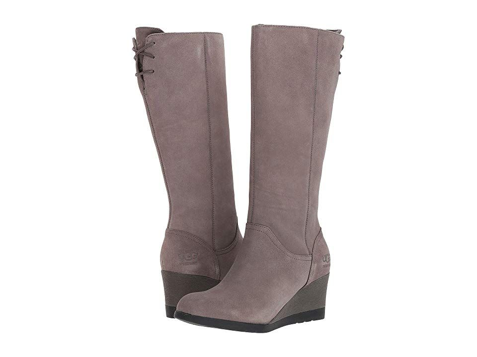 Ugg Dawna Grey Women S Boots Don A Sleek New Style For
