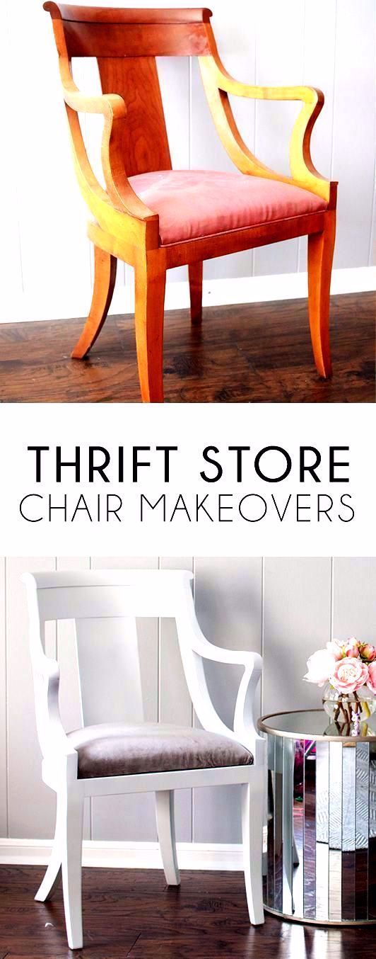 Thrift store chair makeovers are an easy way to make a big impact on a budget. Thrift store diy | thrifted furniture | thrift store diy makeover | thrift store diy project | thrift store home decor | thrift store home decor diy | thrift store home decor Thrift Store Makeover Decor and Fashion DIY Project Ideas MaritimeVintage.com    ##Thrift #ThriftMakeOver #DIY #Project #MaritmeVintage