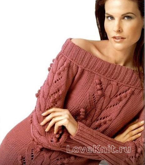 Люблю вязать спицами модели с описанием для женщин