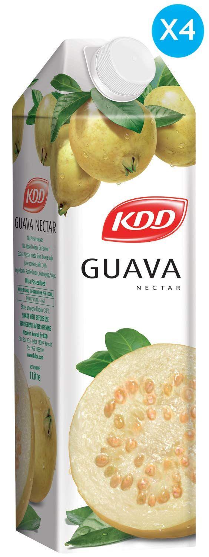 كي دي دي عصير جوافة 1 لتر X 4 تشحن بواسطة امازون امارات In 2020 Guava Food Nectar