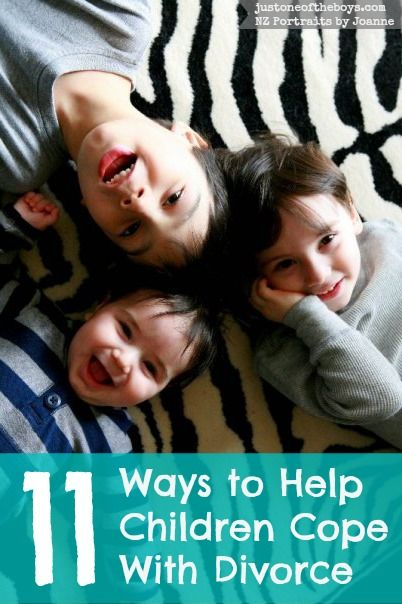 how to help your child cope with divorce