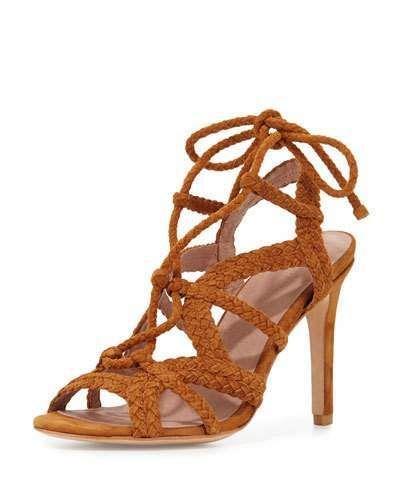 Joie Tonni Sandal (Women | Suede strappy heels, Heels