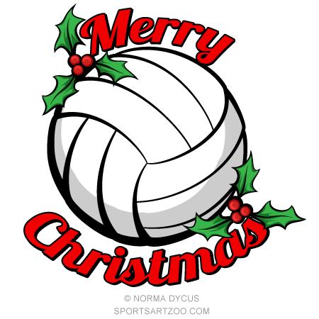 Volleyball Merry Christmas Sportsartzoo Volleyball Christmas Gifts Christmas Wall Stickers Volleyball Christmas
