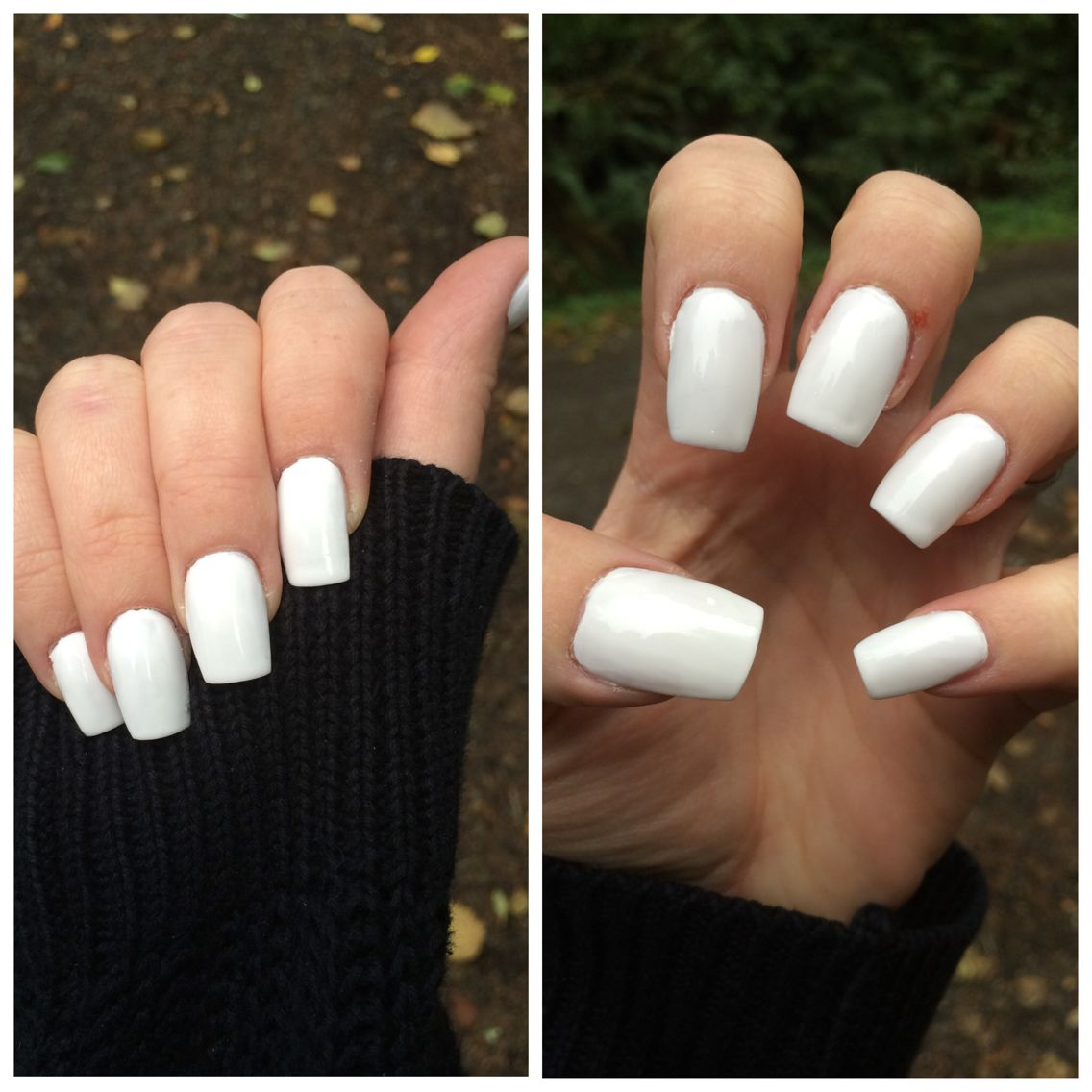 Plain White Square Acrylic Nails Simple Clean And Pretty White Acrylic Nails Square Acrylic Nails Short Acrylic Nails