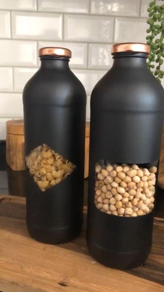 идеи для дома #DIY #StorageJars #Jars #MzManerz |B