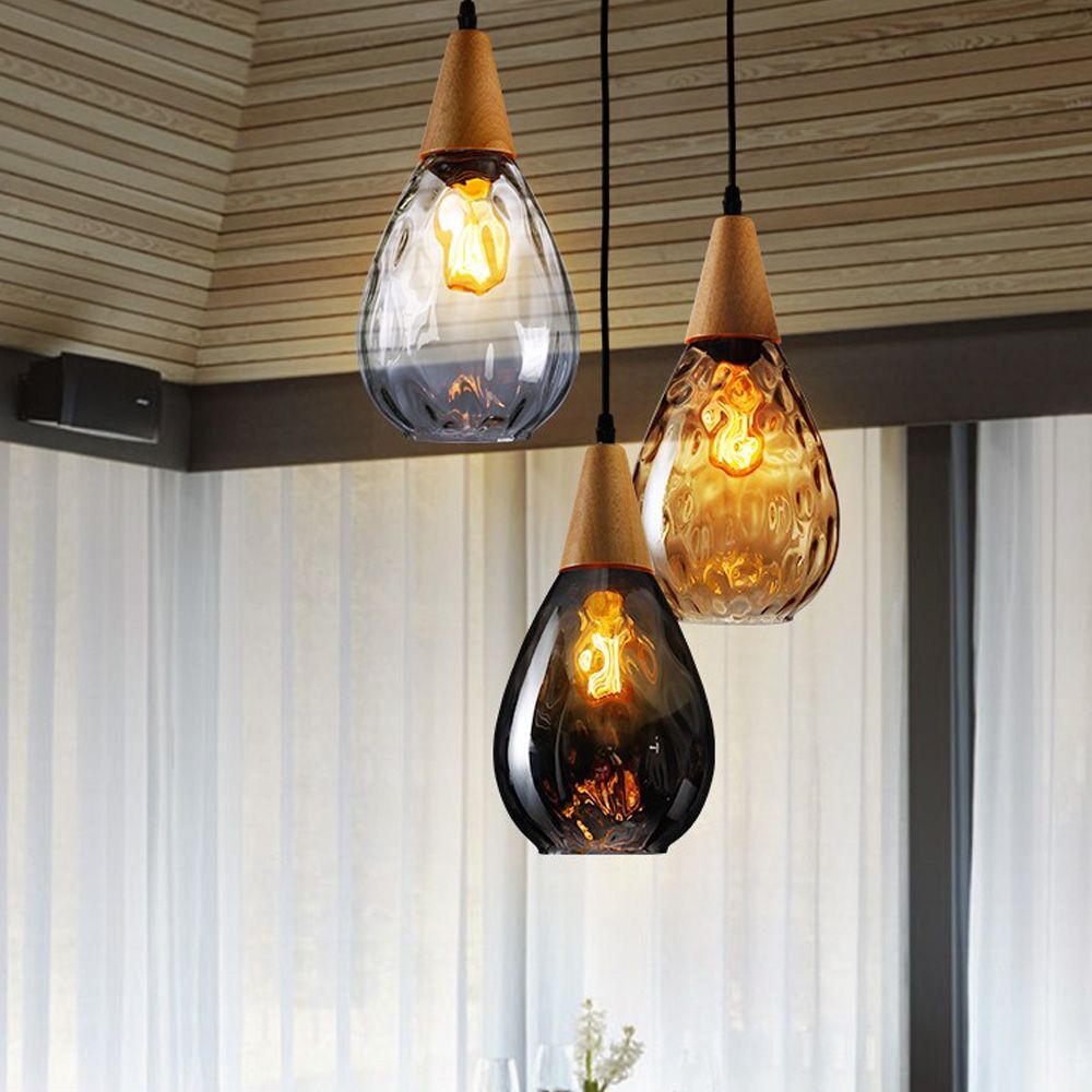 Canada Industrial Style Hanging Lighting Vintage Glass Pendant Light For Buffet Restaurant Decor Find Complete Details About