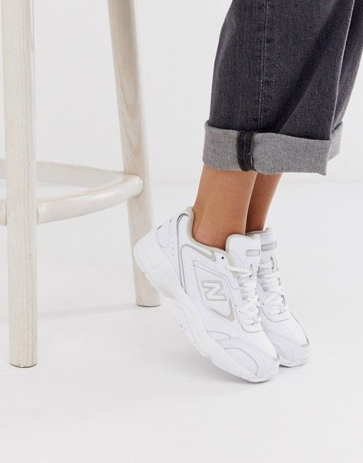 New Balance 452 trainers in white | ASOS | New balance ...