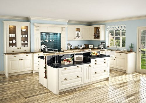 PAINTED SOLID WOOD ASH KITCHEN UNITS IN A CHOICE OF COLOURS. READY ASSEMBLED. | eBay