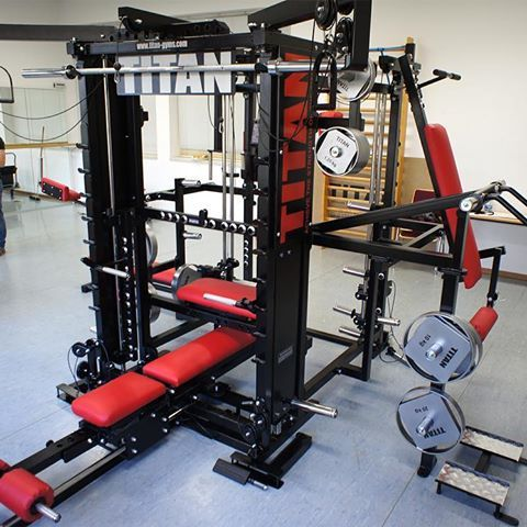 home gym with the titan t3x  at home gym home gym design