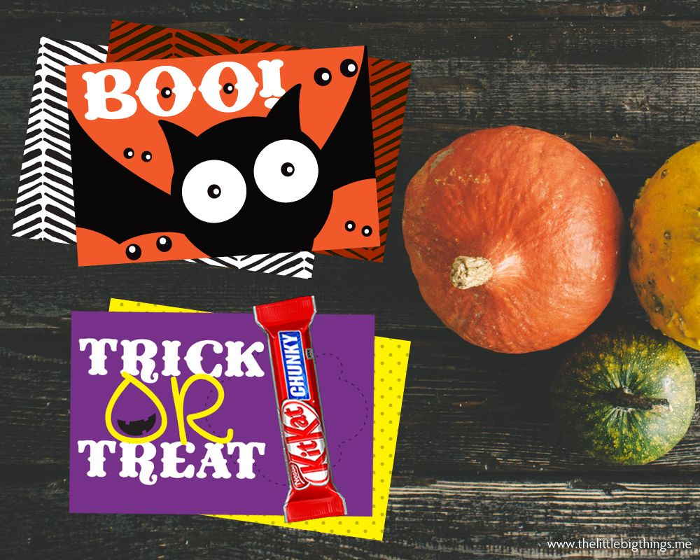 Happy Halloween wishes with batty notecards — The little big things