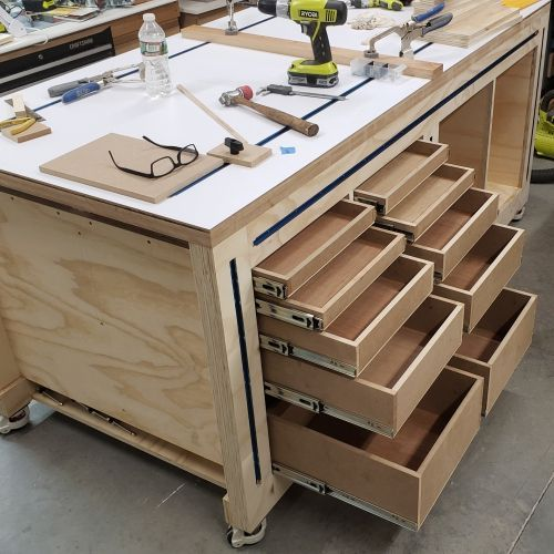 Photo of Multifunktions-Werkbank von Russ – Forum – Paoson Woodworking #Forum #Multifunkt…
