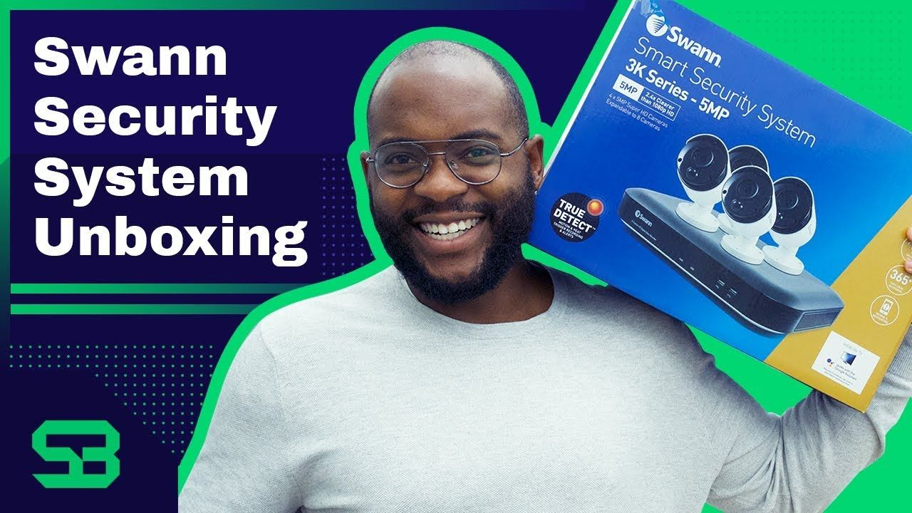 Swann Smart Security System Unboxing Wireless Home Security Systems Wireless Security System Home Security Systems