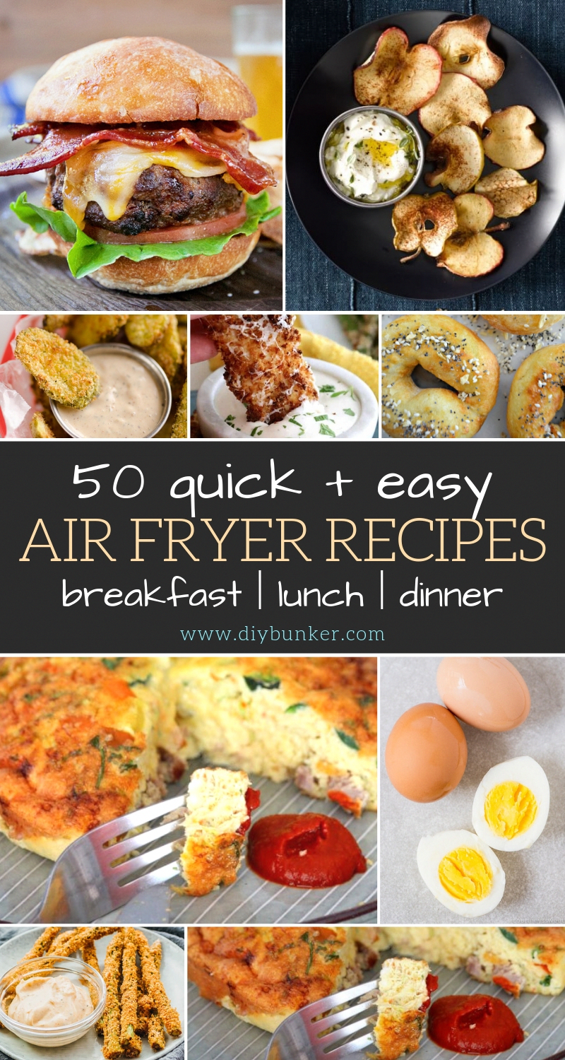 Best Air Fryer Recipes for Breakfast, Lunch and Dinner