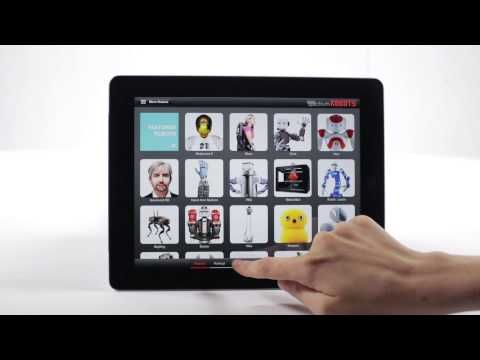 A richly interactive iPad app featuring the world's most