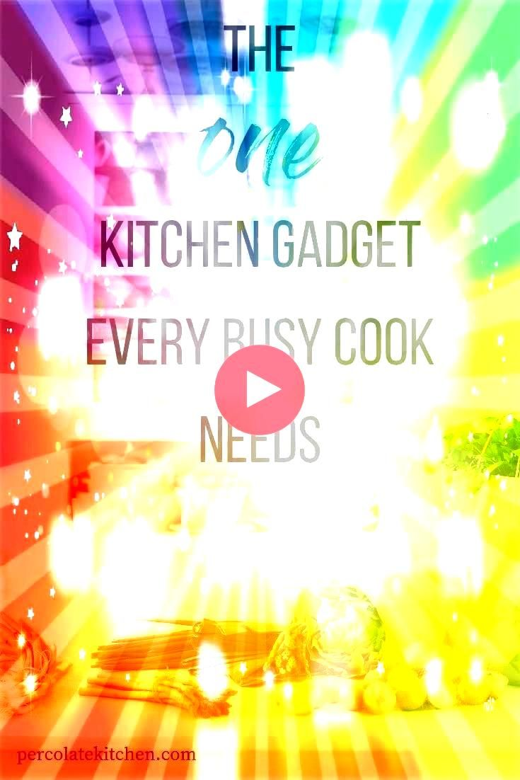 Gadget Every Busy Cook Needs  Check what that one musthave gad  The One Kitchen Gadget Every Busy Cook Needs  Check what that one musthave gadget is for the ki The One Ki...