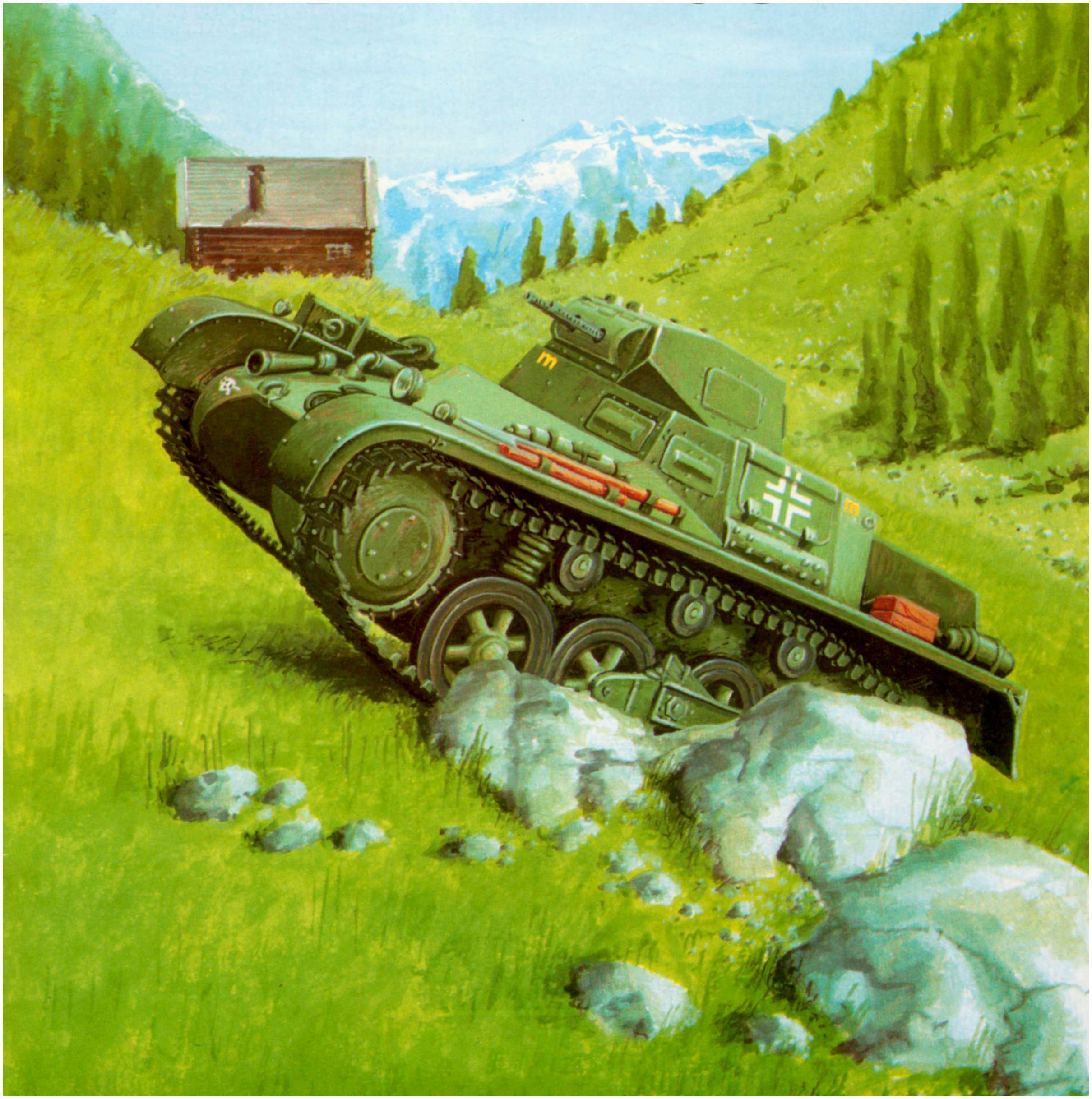 Panzer I Ausf.B de la 3° Compañia, 5th Reg. Panzer, 3th Panzerdivision. Polonia, 1939