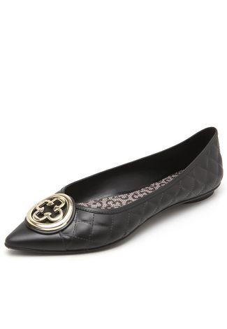 253cf15ff Sapatilha Capodarte Matelassê preta in 2019   shoes   Shoes, Tory ...