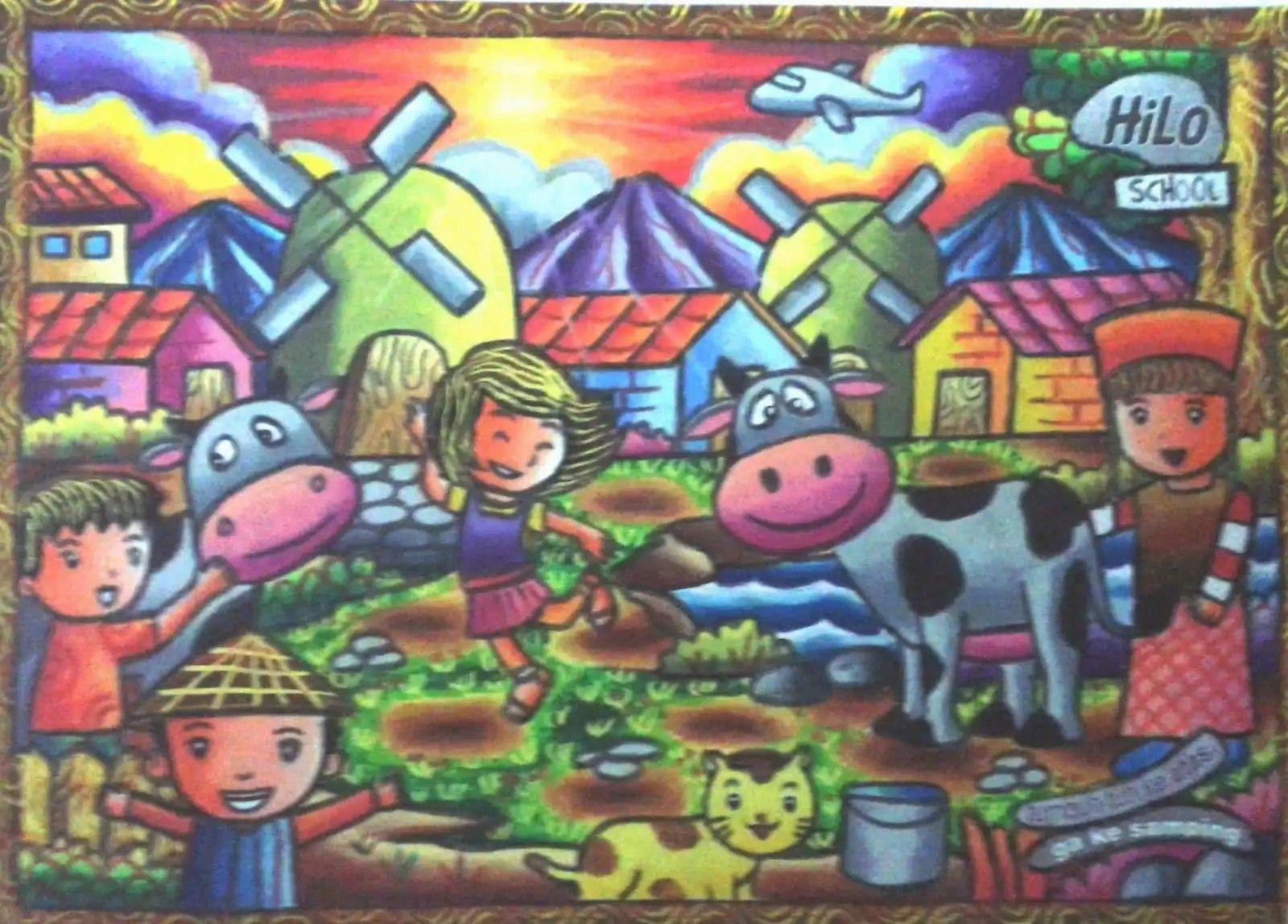 Pin Oleh Vitri Maharani Di Crayon