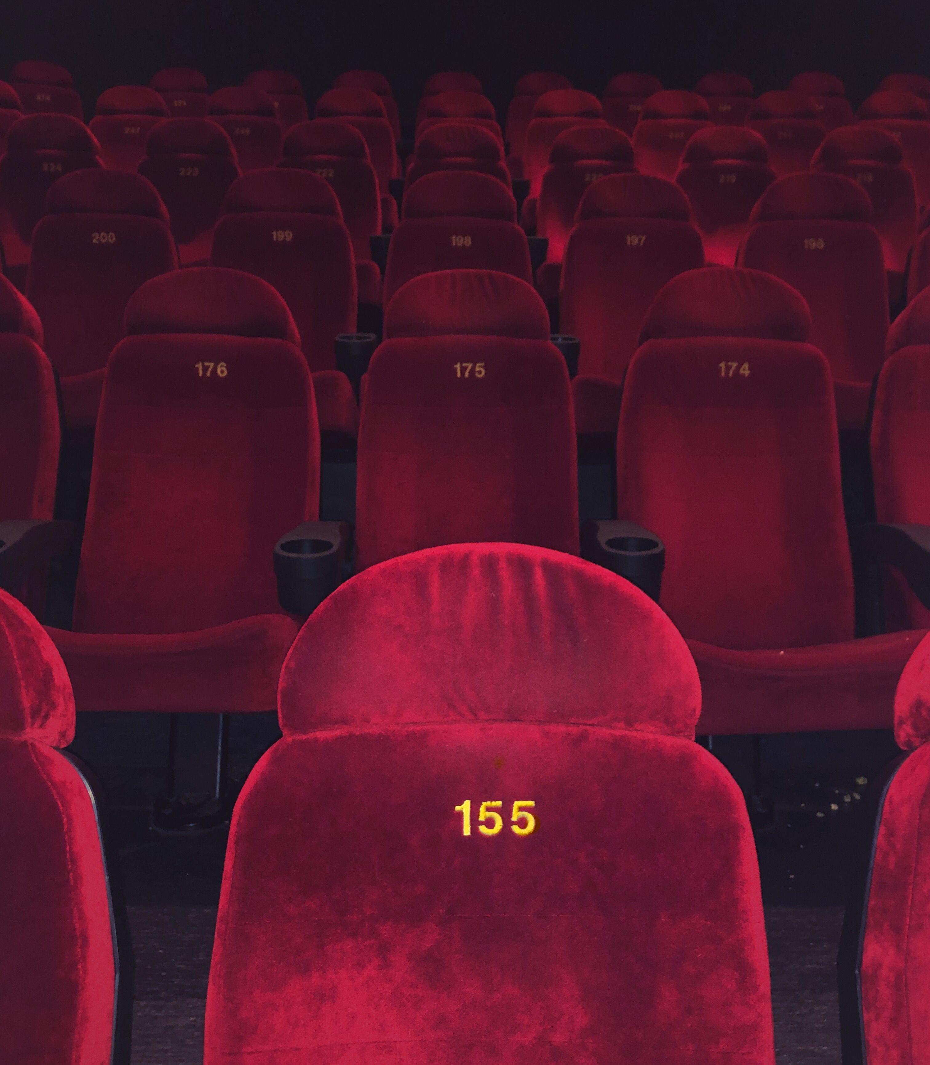 Cinema Cinema Red Aesthetic Aesthetic