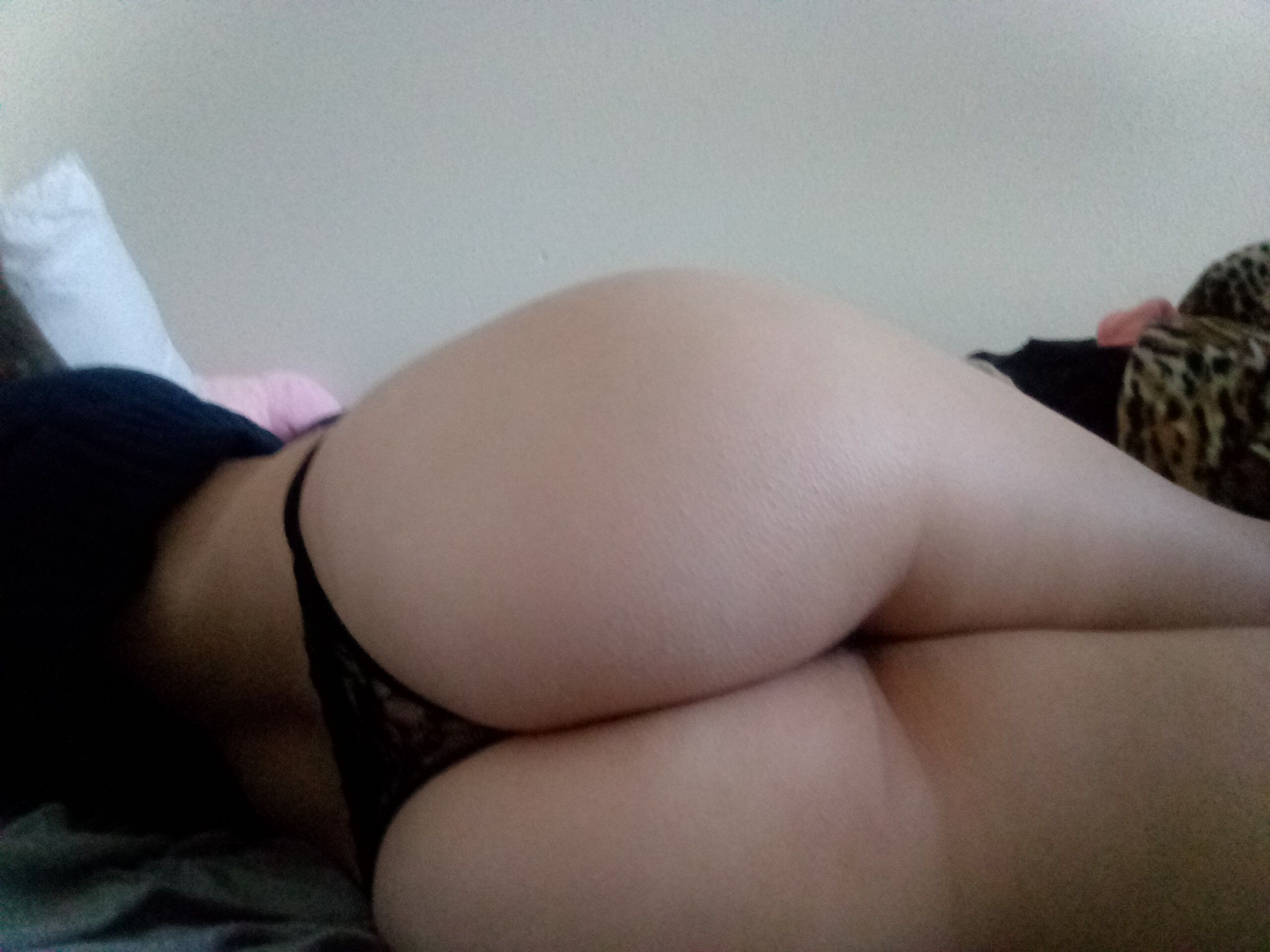 Naked girl holding naked boy bed on
