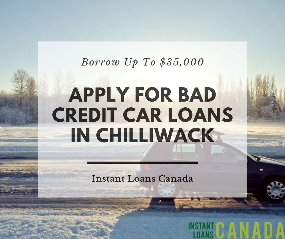 Collateral Loan Bad Credit >> Applying For Car Loans Chilliwack British Columbia Bad Credit Car
