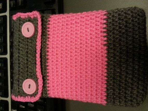 Crocheted Kindle Fire Cozy by Crochet911 on Etsy, $15.00