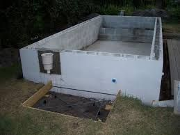 Cinder block pool google search pools pools pools - Cinder block swimming pool construction ...