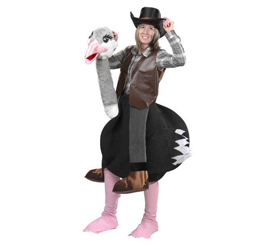 disfraz de avestruz para hombre adultoun singular a todos