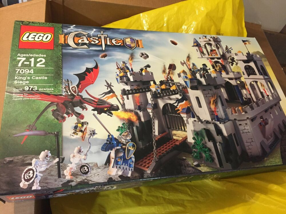 Lego Castle Kings Siege 7094 The Ultimate Toy Collection Lego