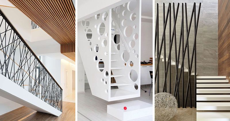 Best 11 Creative Stair Railings That Are A Focal Point In These Modern Houses Staircase Design 400 x 300