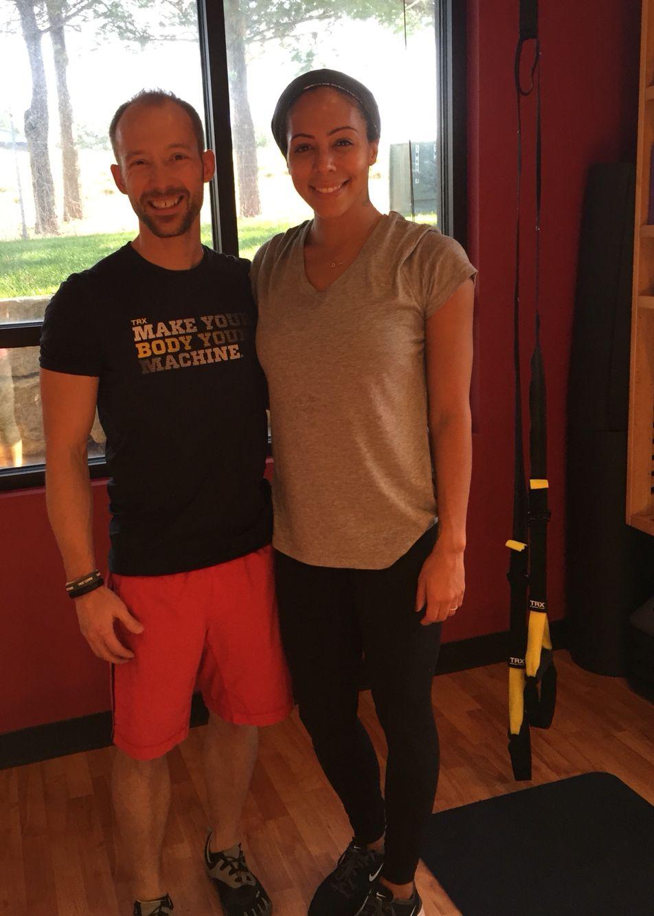 Sydney LaRoux EARNINGIT at CORE Strong Fitness  Exercise