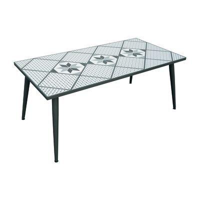 Tavoli E Sedie Giardino Leroy Merlin.Tavolo Da Giardino Rettangolare Mosaico Con Piano In Mosaico L 95