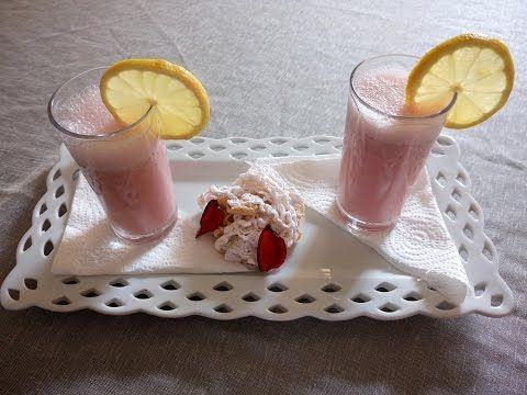 شهيوات و حلويات الطبخ الاصيل Tabkh Assil عصير الفريز او الفراولة روعة لشهر رمضان المبارك Desserts Food Glass Of Milk