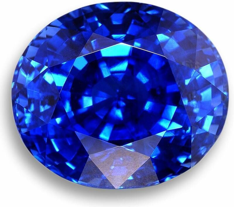 Neon Blue (cornflower) Sapphire - Finding sapphires with this