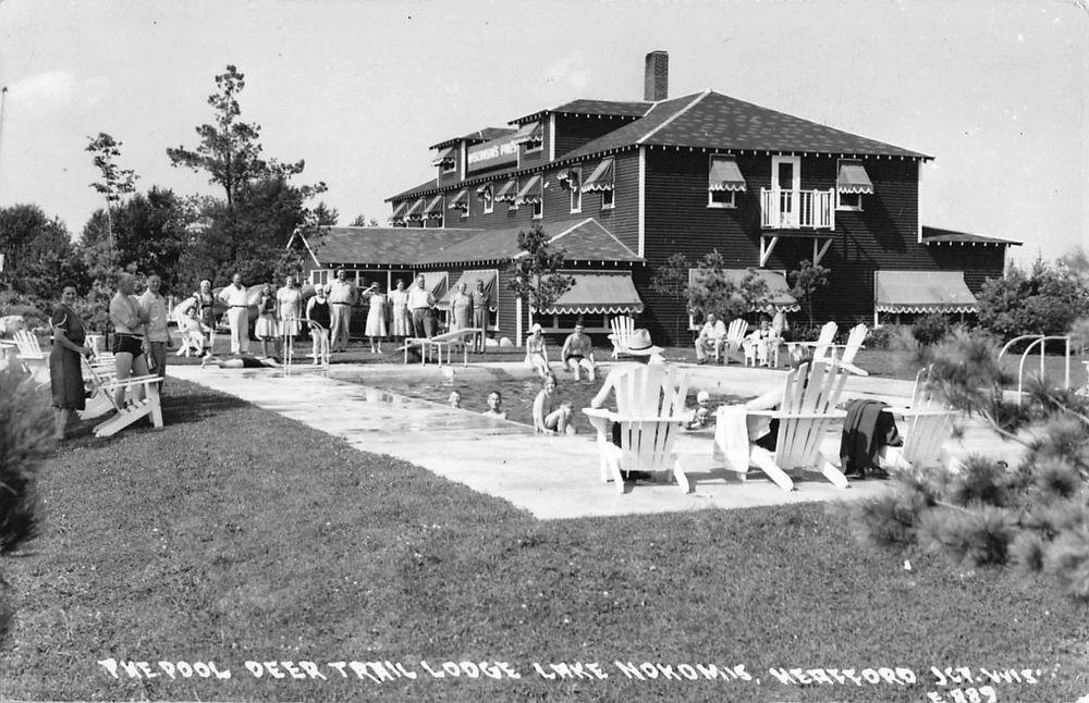 Rppc Pool Deer Trail Lodge At Lake Nokomis Heafford Junction