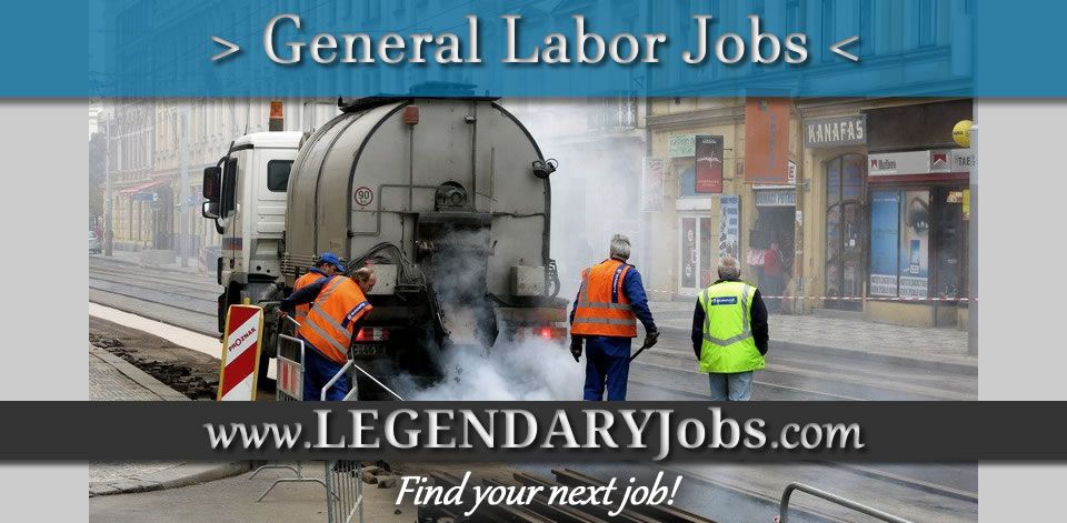 Hiring for general labor positions httpswww