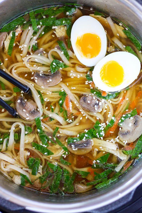 Instant Pot Pressure Cooker Ramen Soup Recipe Instant Pot