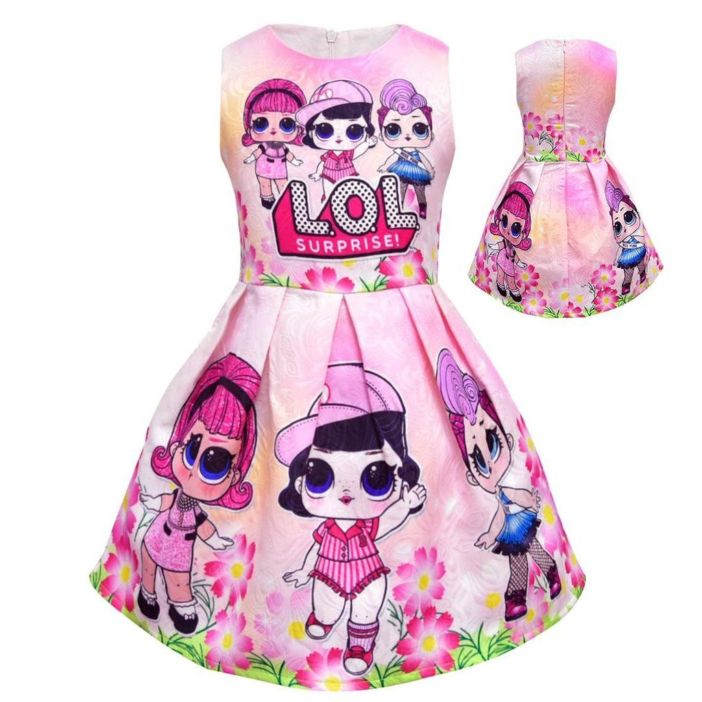 9eb3fb19e3c44 LOL Surprise Dolls Tutu Dress/Girls Birthday/#Girls Birthday Party ...