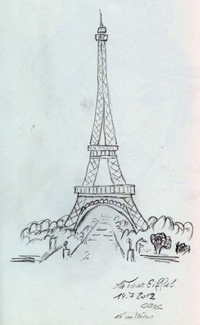 der eiffelturm vom palais chaillot aus gesehen die. Black Bedroom Furniture Sets. Home Design Ideas