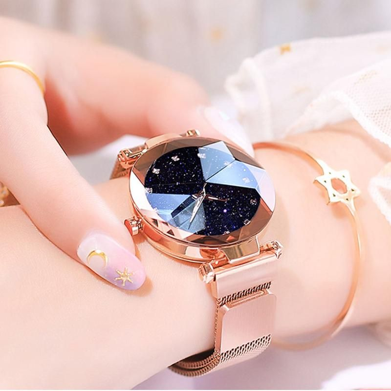 Starry Sky Magnetic Buckle Watch - elegant and sty