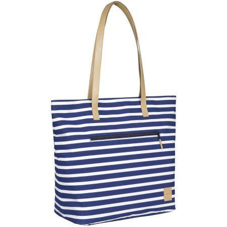 Lassig Casual Diaper Bag Tote, Navy, Blue
