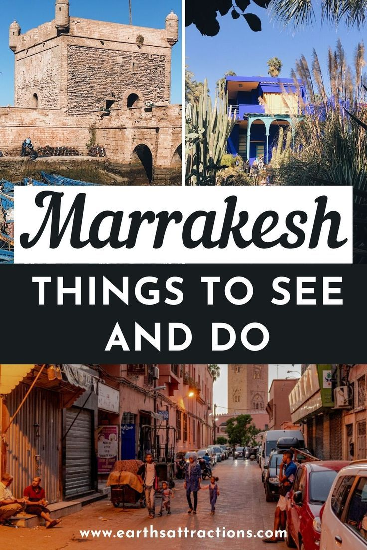 Discover the best things to do in Marrakesh, Morocco. This travel guide to Marrakesh includes the top Marrakesh attractions as well as things to do near Marrakesh and useful tips for visiting Marrakesh. Read the article now.  #marrakesh #morocco #marrakesh tips #marrakech #traveltips #traveldestinations #travelguide #earthsattractions